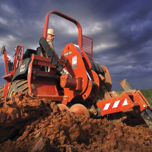Ditch Witch RT55 Trencher