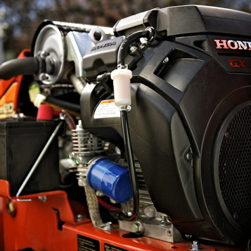 Honda Engine in Ditch Witch Trencher