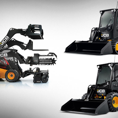 JCB Skid Steer Wheeled/Tracked with Attachments