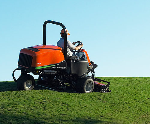 Jacobsen TR-3 Cylinder Ride On Mower