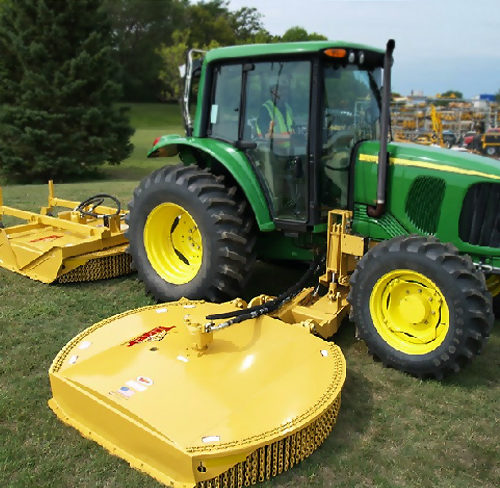 Tiger Twin Mounted TRR Series Rotary Mower