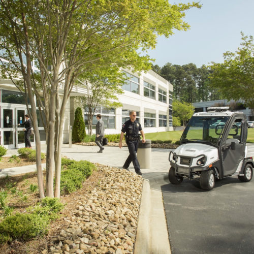 Club Car Carryall 300 Utility/Security Vehicle Customized for Government Contract Sales