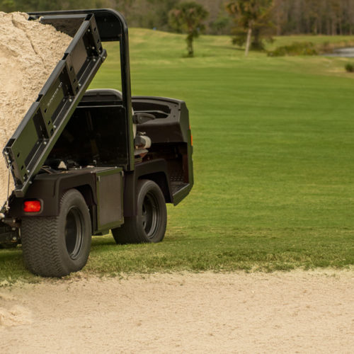 Cushman Truckster XD Dump Bed Lift For Sale Government Contract Pricing